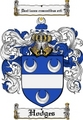 Thumbnail Hodges Family Crest Hodges Coat of Arms Digital Download