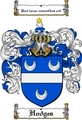 Thumbnail Hodges Family Crest / Hodges Coat of Arms