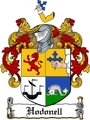 Thumbnail Hodonell Family Crest  Hodonell Coat of Arms