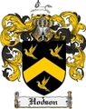 Thumbnail Hodson Family Crest Hodson Coat of Arms Digital Download