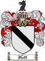 Thumbnail Hoff Family Crest  Hoff Coat of Arms