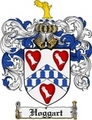 Thumbnail Hoggart Family Crest Hoggart Coat of Arms Digital Download