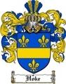 Thumbnail Hoke Family Crest  Hoke Coat of Arms