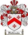 Thumbnail Holbroake Family Crest  Holbroake Coat of Arms