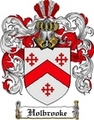 Thumbnail Holbrooke Family Crest Holbrooke Coat of Arms Digital Download