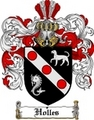Thumbnail Holles Family Crest  Holles Coat of Arms