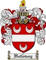 Thumbnail Holloway Family Crest Holloway Coat of Arms Digital Download