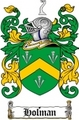 Thumbnail Holman Family Crest  Holman Coat of Arms