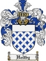 Thumbnail Holtby Family Crest Holtby Coat of Arms Digital Download