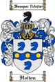 Thumbnail Holton-2 Family Crest Holton-2 Coat of Arms Digital Download