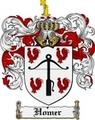 Thumbnail Homer Family Crest Homer Coat of Arms Digital Download