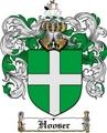 Thumbnail Hooser Family Crest  Hooser Coat of Arms