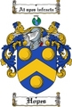 Thumbnail Hopes Family Crest  Hopes Coat of Arms