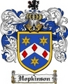 Thumbnail Hopkinson Family Crest Hopkinson Coat of Arms Digital Download