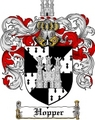 Thumbnail Hopper Family Crest  Hopper Coat of Arms
