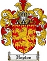 Thumbnail Hopton Family Crest Hopton Coat of Arms Digital Download