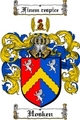Thumbnail Hosken Family Crest  Hosken Coat of Arms