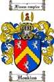 Thumbnail Hoskins Family Crest  Hoskins Coat of Arms