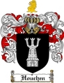 Thumbnail Houchen Family Crest  Houchen Coat of Arms