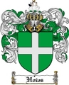 Thumbnail Hows Family Crest  Hows Coat of Arms