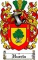 Thumbnail Huerta Family Crest  Huerta Coat of Arms