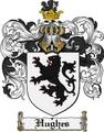 Thumbnail Hughes Family Crest Hughes Coat of Arms Digital Download
