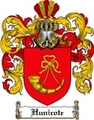 Thumbnail Hunicote Family Crest Hunicote Coat of Arms Digital Download