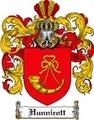 Thumbnail Hunnicott Family Crest Hunnicott Coat of Arms Digital Download