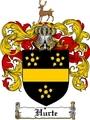 Thumbnail Hurte Family Crest  Hurte Coat of Arms