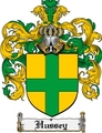 Thumbnail Hussey Family Crest Hussey Coat of Arms Digital Download
