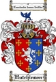 Thumbnail Hutchinson Family Crest Hutchinson Coat of Arms Digital Download