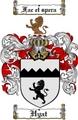Thumbnail Hyat Family Crest  Hyat Coat of Arms