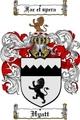 Thumbnail Hyatt Family Crest  Hyatt Coat of Arms