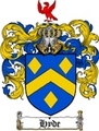 Thumbnail Hyde Family Crest  Hyde Coat of Arms