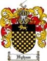 Thumbnail Hyham Family Crest Hyham Coat of Arms Digital Download