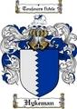 Thumbnail Hykeman Family Crest  Hykeman Coat of Arms