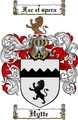 Thumbnail Hytte Family Crest  Hytte Coat of Arms
