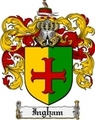 Thumbnail Ingham Family Crest Ingham Coat of Arms Digital Download