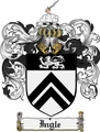 Thumbnail Ingle Family Crest Ingle Coat of Arms Digital Download