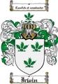 Thumbnail Irwin Family Crest  Irwin Coat of Arms