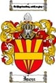 Thumbnail Ison Family Crest  Ison Coat of Arms