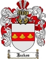 Thumbnail Jackes Family Crest Jackes Coat of Arms Digital Download