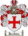Thumbnail Jacobsen Family Crest  Jacobsen Coat of Arms