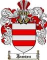 Thumbnail Jansen Family Crest  Jansen Coat of Arms