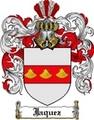 Thumbnail Jaquez Family Crest Jaquez Coat of Arms Digital Download