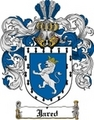 Thumbnail Jared Family Crest  Jared Coat of Arms