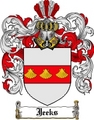 Thumbnail Jeeks Family Crest Jeeks Coat of Arms Digital Download