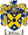 Thumbnail Jefferson Family Crest  Jefferson Coat of Arms