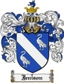 Thumbnail Jenison Family Crest Jenison Coat of Arms Digital Download