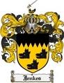 Thumbnail Jenkes Family Crest Jenkes Coat of Arms Digital Download